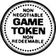 Arcade And Amusement Token Designs
